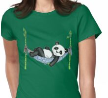 iPod Panda Womens Fitted T-Shirt