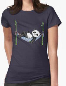 iPod Panda Womens Fitted T-Shirt