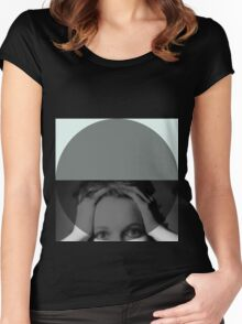circle to the head Women's Fitted Scoop T-Shirt