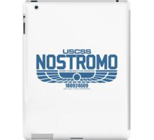 NOSTROMO ALIEN MOVIE STARSHIP (BLUE) iPad Case/Skin