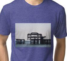 Ruined Pier Tri-blend T-Shirt