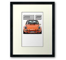 PORSCHE 911 S Framed Print