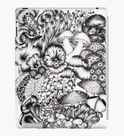 A Medley of Mushrooms iPad Case/Skin