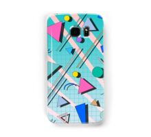 80s pop retro pattern 4 Coque et skin Samsung Galaxy