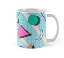 80s pop retro pattern 4 Mug