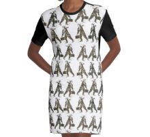 Rush Hour Graphic T-Shirt Dress