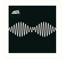 Arctic Monkeys AM  Art Print
