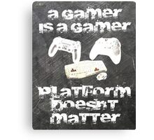 Gamer platform Canvas Print