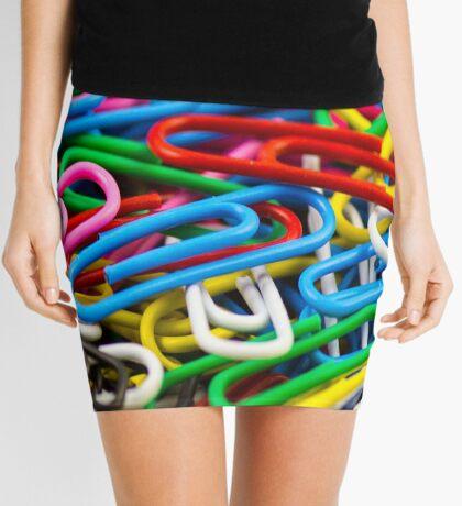 Paper Clips Mini Skirt