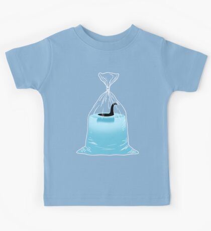 Loch Ness Golden Fish Kids Tee
