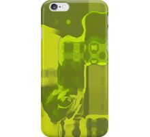 Chartreuse Blocks iPhone Case/Skin