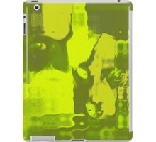 Chartreuse Blocks iPad Case/Skin