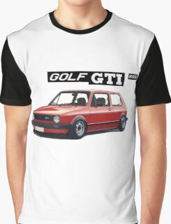 VW GOLF 1 GTI -2 Graphic T-Shirt
