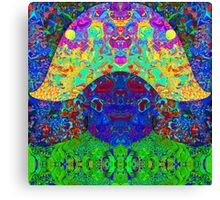 Military Dog Canvas Print