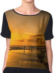 Beach Day Chiffon Top