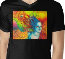 Goddess: Domina Mens V-Neck T-Shirt