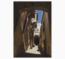 Limestone and Sharp Shadows - Old Town Noto, Sicily, Italy One Piece - Long Sleeve