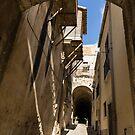 Limestone and Sharp Shadows - Old Town Noto, Sicily, Italy by Georgia Mizuleva