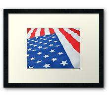 American Flag 2 Framed Print
