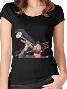 Harry James Angus Band @ Darling Harbour 2012 Women's Fitted Scoop T-Shirt