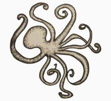 Dancing Octopus One Piece - Short Sleeve