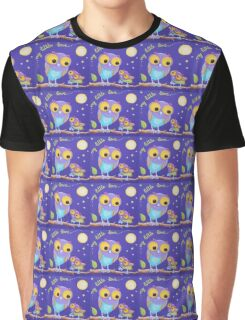My Little Love - Mummy and Baby Owl Graphic T-Shirt