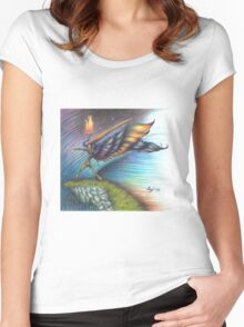 All the Kingdoms of the Earth Women's Fitted Scoop T-Shirt