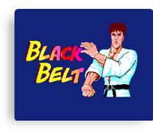 BLACK BELT - SEGA MASTER SYSTEM Canvas Print