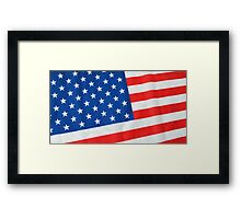 American Flag 3 Framed Print
