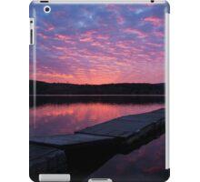 Pontoon sunrise iPad Case/Skin