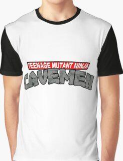 """Teenage Mutant Ninja Cavemen """"Dinosaurs"""" Graphic T-Shirt"""