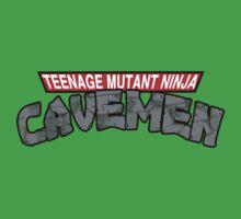 "Teenage Mutant Ninja Cavemen ""Dinosaurs"" One Piece - Short Sleeve"