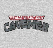 "Teenage Mutant Ninja Cavemen ""Dinosaurs"" Baby Tee"