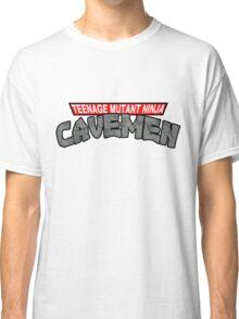 "Teenage Mutant Ninja Cavemen ""Dinosaurs"" Classic T-Shirt"