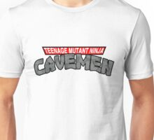 "Teenage Mutant Ninja Cavemen ""Dinosaurs"" Unisex T-Shirt"
