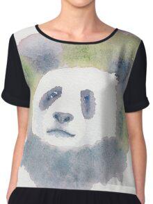 Giant Panda Women's Chiffon Top