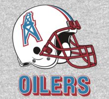 HOUSTON OILERS FOOTBALL RETRO (2) One Piece - Long Sleeve