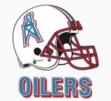 HOUSTON OILERS FOOTBALL RETRO (2) One Piece - Short Sleeve
