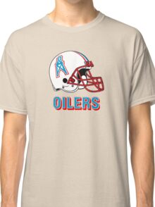 HOUSTON OILERS FOOTBALL RETRO (2) Classic T-Shirt