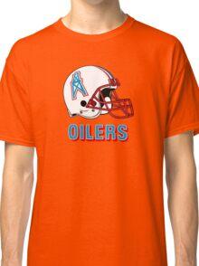 HOUSTON OILERS FOOTBALL RETRO (2) Classic T-Shirt