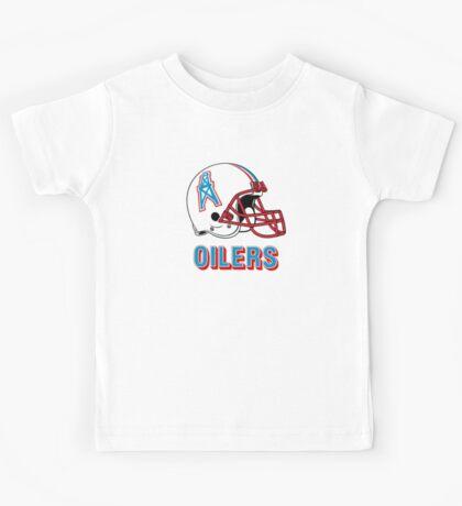 HOUSTON OILERS FOOTBALL RETRO (2) Kids Tee
