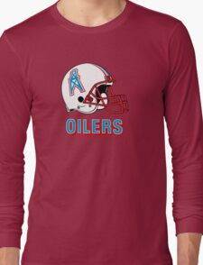 HOUSTON OILERS FOOTBALL RETRO (2) Long Sleeve T-Shirt