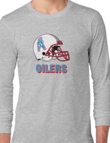 HOUSTON OILERS FOOTBALL RETRO (2) Long Sleeve T-Shirt