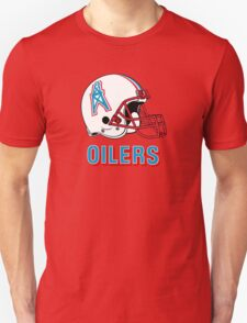 HOUSTON OILERS FOOTBALL RETRO (2) Unisex T-Shirt