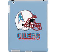 HOUSTON OILERS FOOTBALL RETRO (2) iPad Case/Skin
