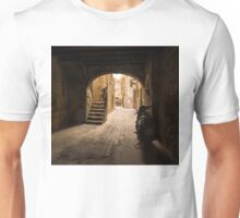 A Very Italian Courtyard Unisex T-Shirt