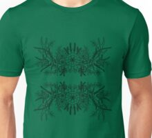 Antlers with Flowers #1 Unisex T-Shirt