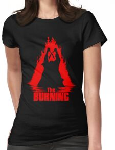 The Burning Womens Fitted T-Shirt