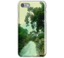 NATURAL WATERFALL iPhone Case/Skin