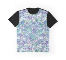 Blueish dots Graphic T-Shirt